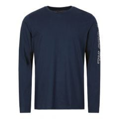Ralph Lauren Sleepwear Long Sleeve T-Shirt 714757467 004 Navy