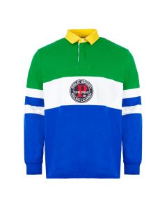 ralph lauren rugby shirt 710790856 001 green / blue