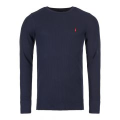 ralph lauren sleepwear long sleeve t-shirt 714705228 009 navy