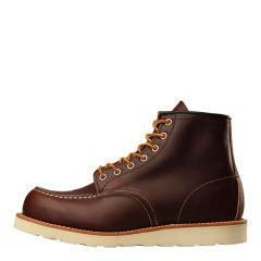 """Red Wing Moc Toe Boots Briar Oil Stick 8138 6"""""""