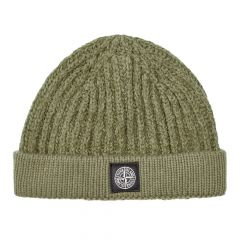 Stone Island Beanie 7115N02D4|V0058 In Olive At Aphrodite Clothing