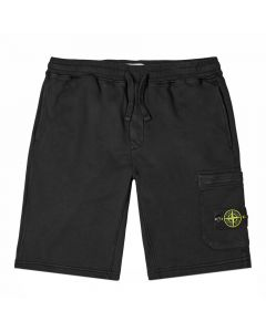 Stone Island Sweat Shorts | 731564620 V0029 Black | Aphrodite