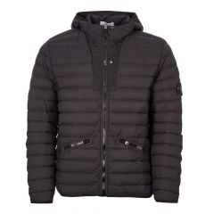 Stone Island Down Jacket Chambers Nylon TC Loom Woven | 711543125 V0029 Black