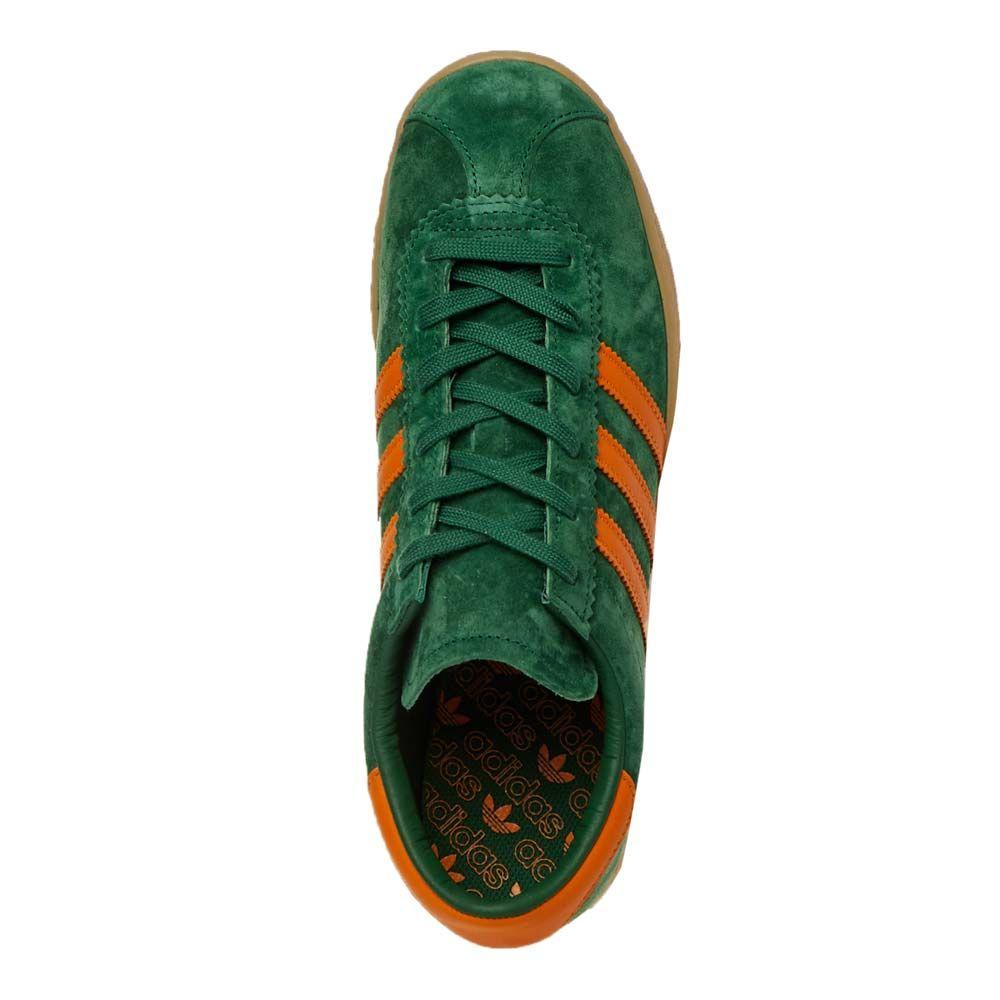 adjetivo Barry barricada  adidas Originals Stadt Trainers | FV1216 Green / Orange / Gum | Aphrod