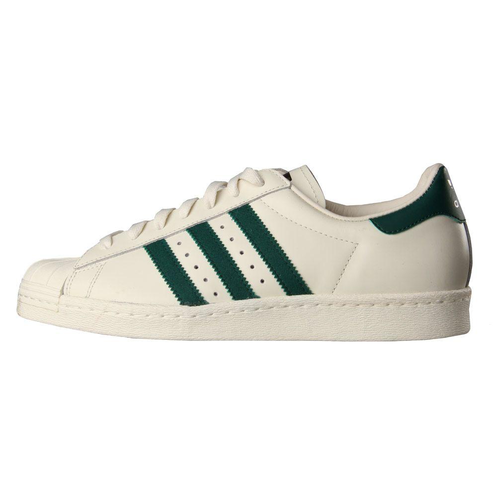 Adidas Gazelle Vintage White Collegiate Green Trainers