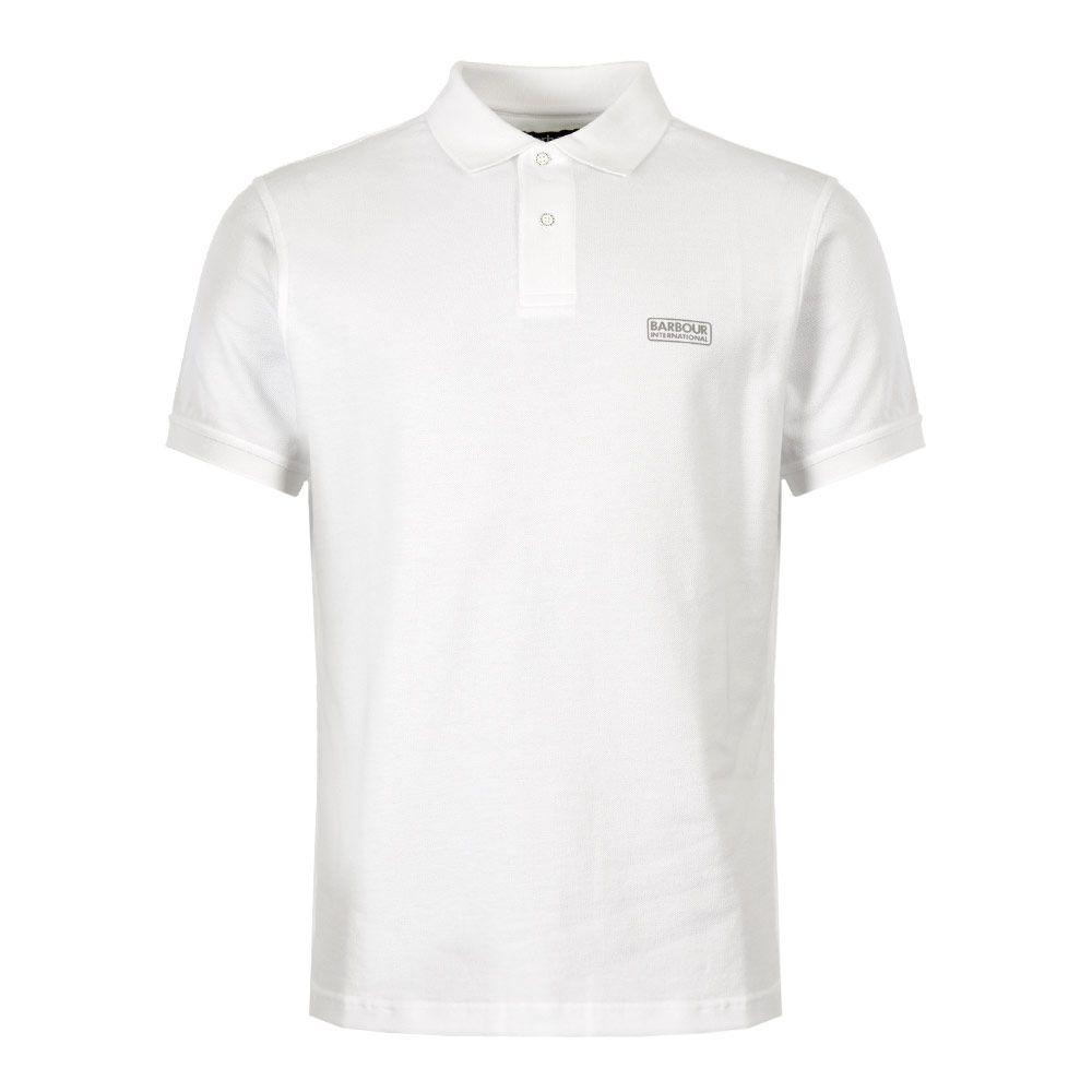 excellent quality designer fashion uk availability International Polo Shirt Logo – White