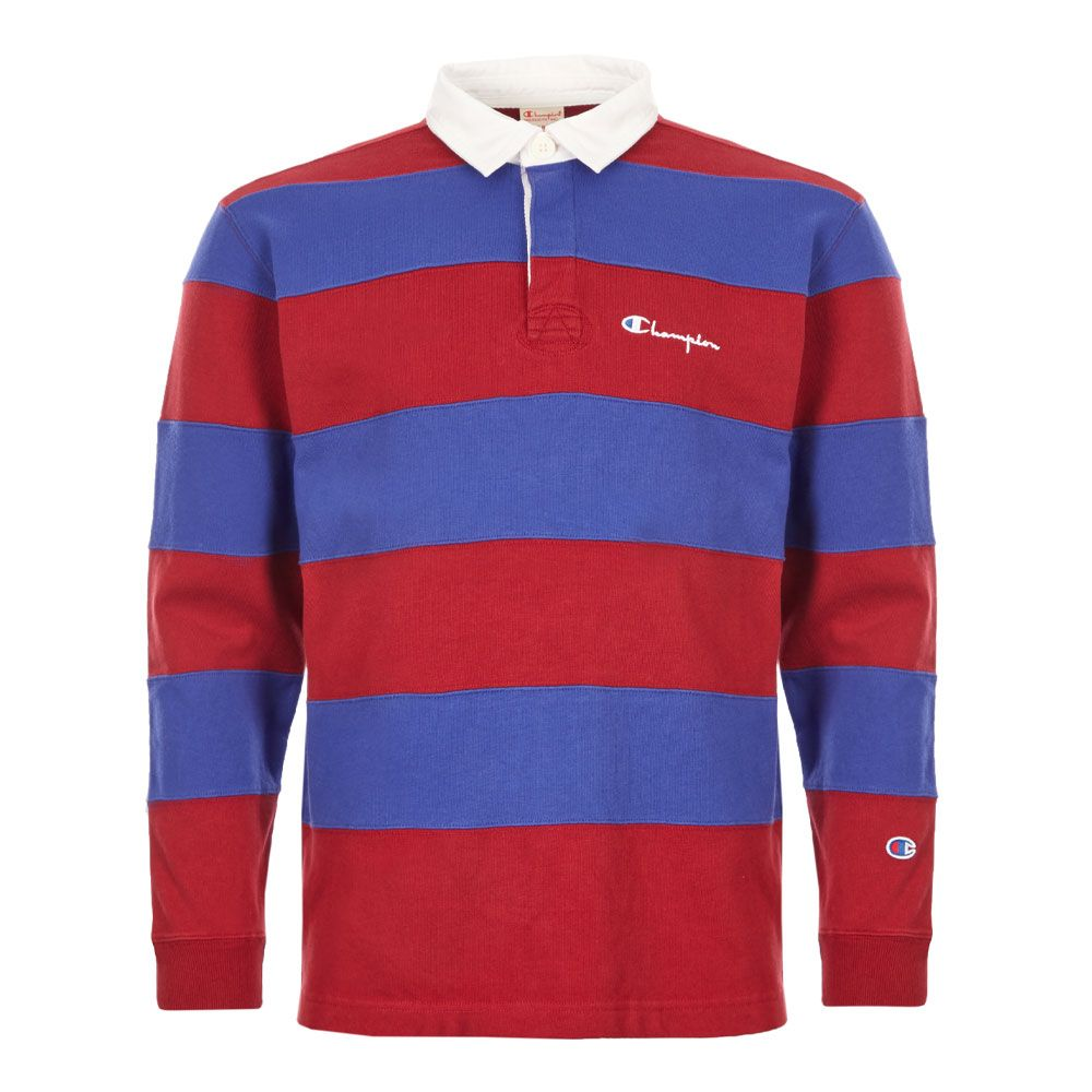 Rugby Shirt 213661 Rs517 Rdd Red