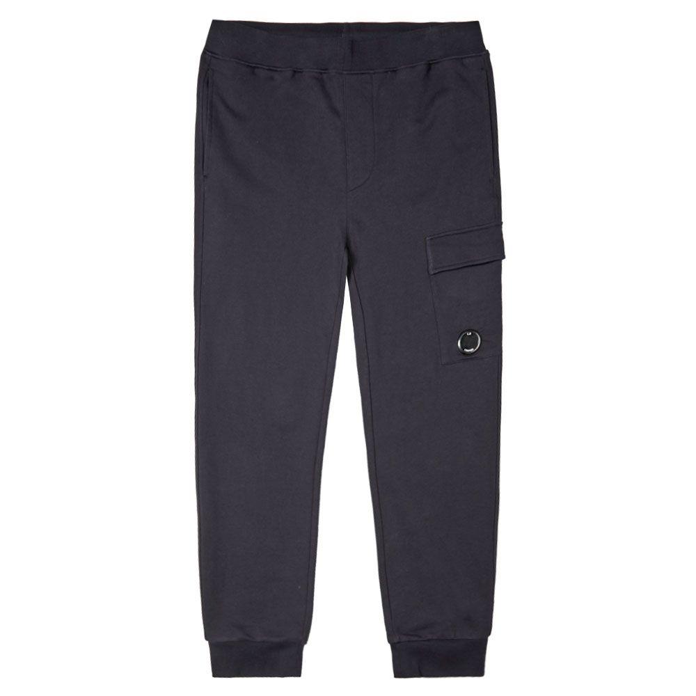 C.P Company Light Fleece Cargo Sweatpants Joggers Total Eclipse Size Medium