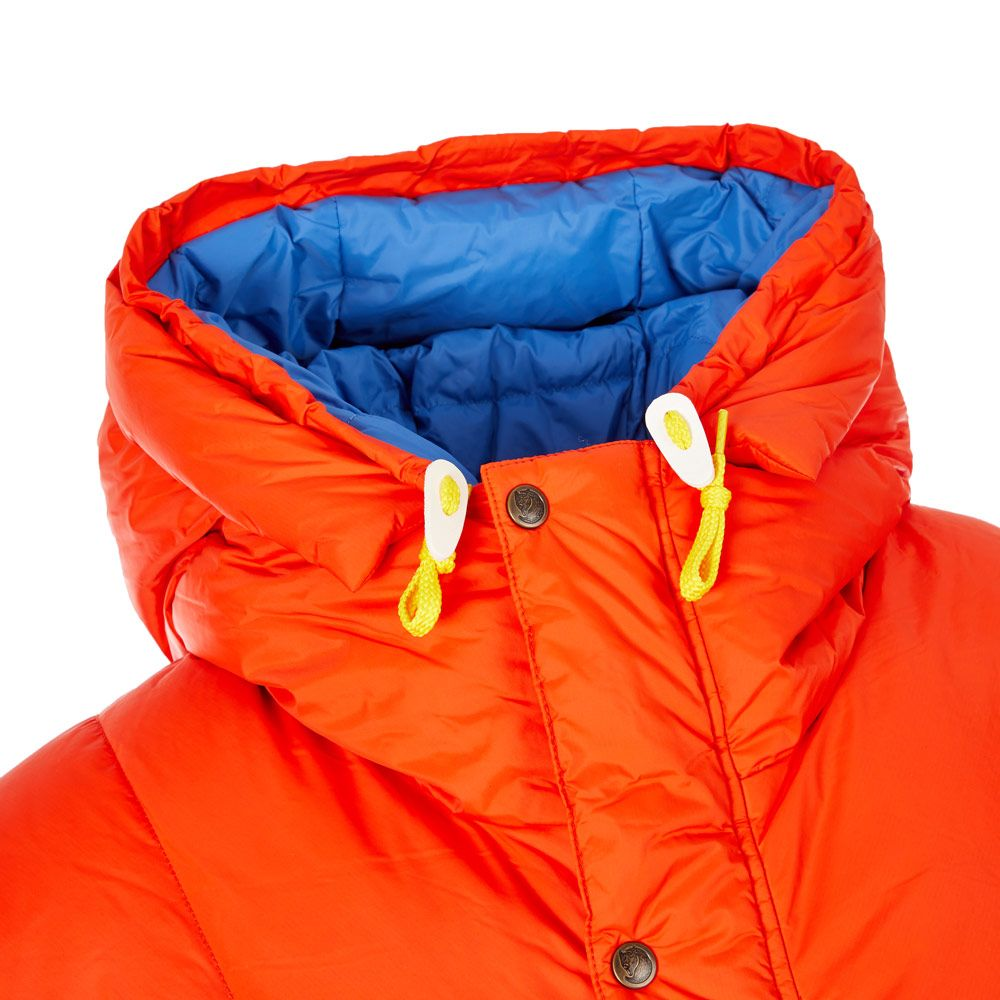 Down Jacket Expedition Flame Orange