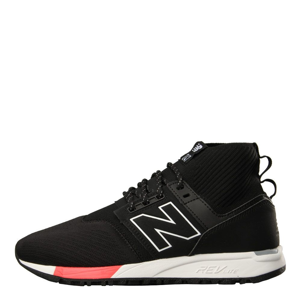 New Balance 247 Mid Trainers in Black