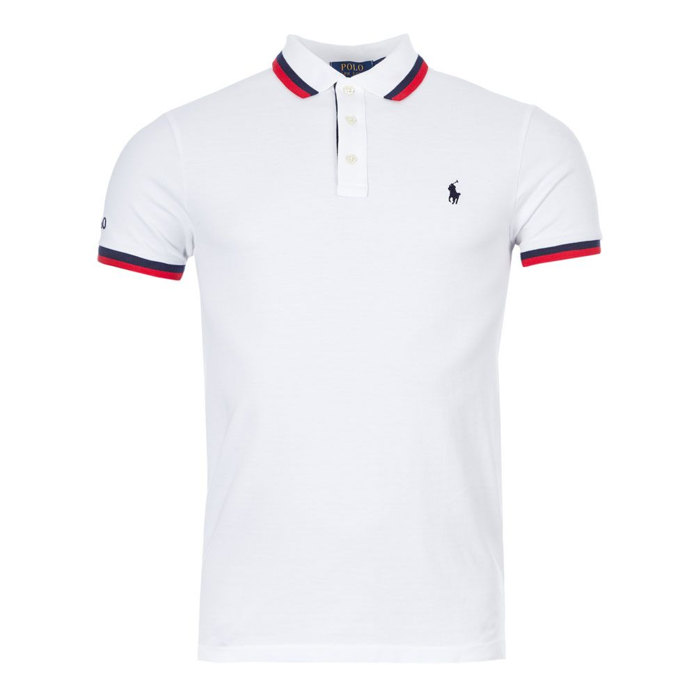 Ralph Lauren Polo Twin Tipped | 710784005 002 White Navy