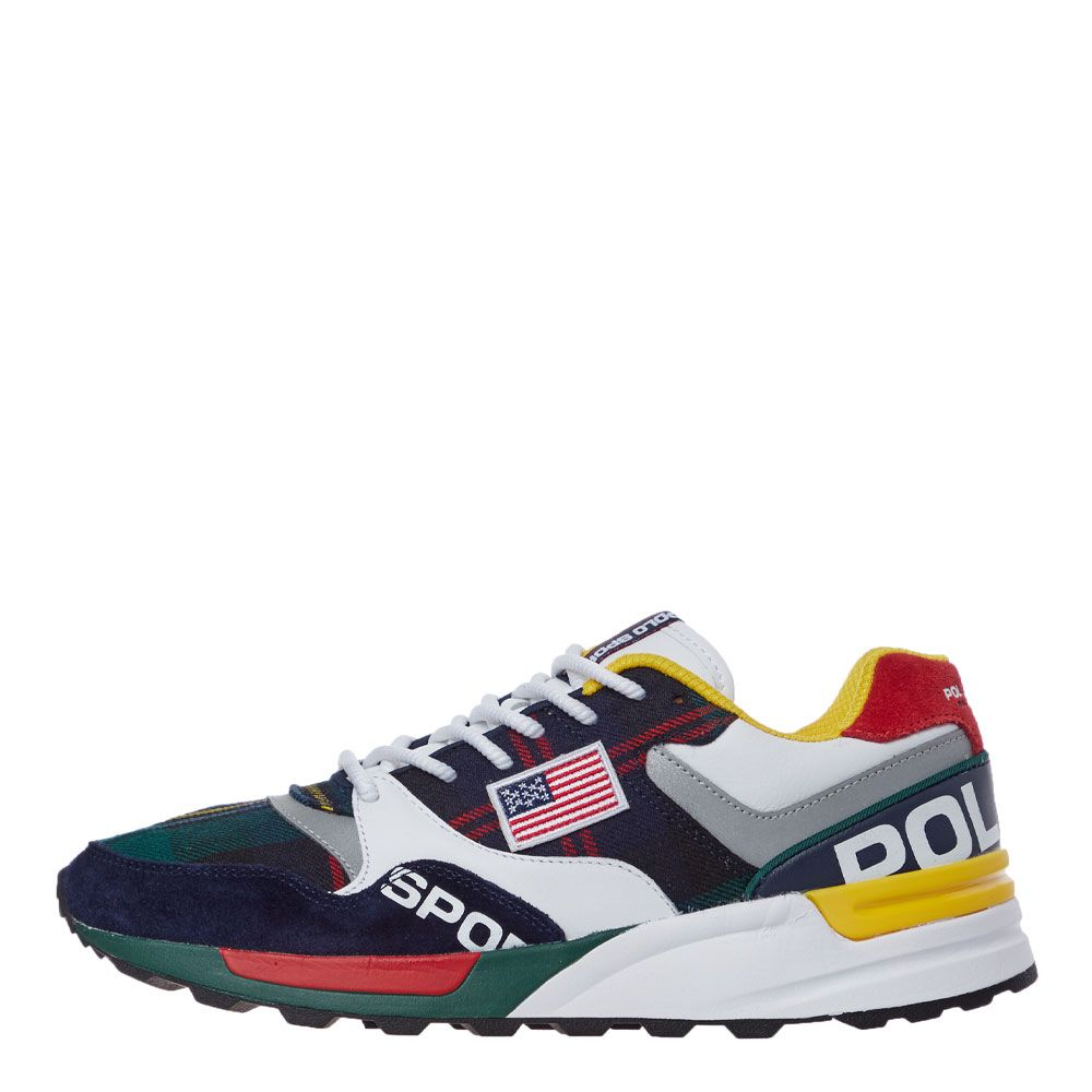 performance sportswear professional sale lower price with Ralph Lauren Trackster 100 Trainers | 809758713 001 Multi | Aphrodite1
