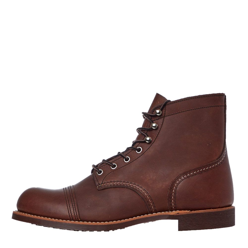 Red Wing Iron Ranger Boots | 8111 Amber