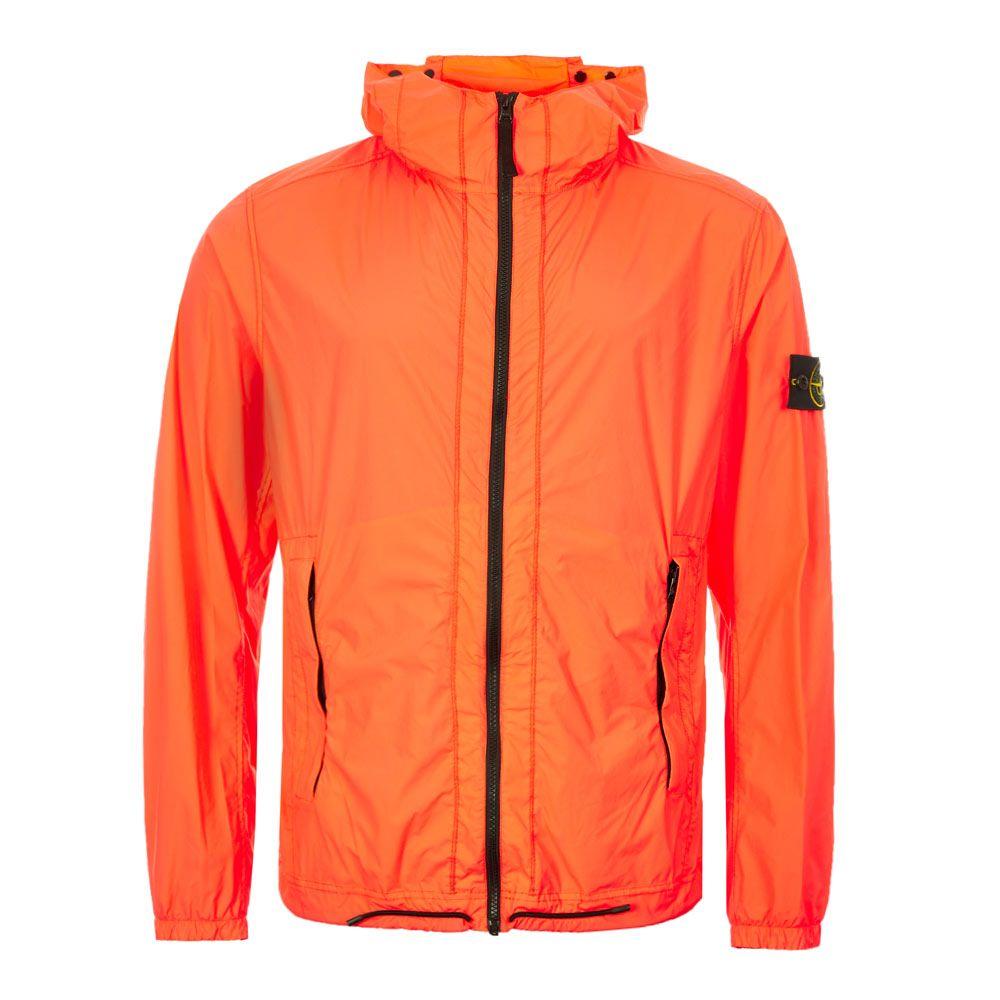Stone Island Jacket Skin Touch Nylon 72154381 V0037 Orange Aphrodi