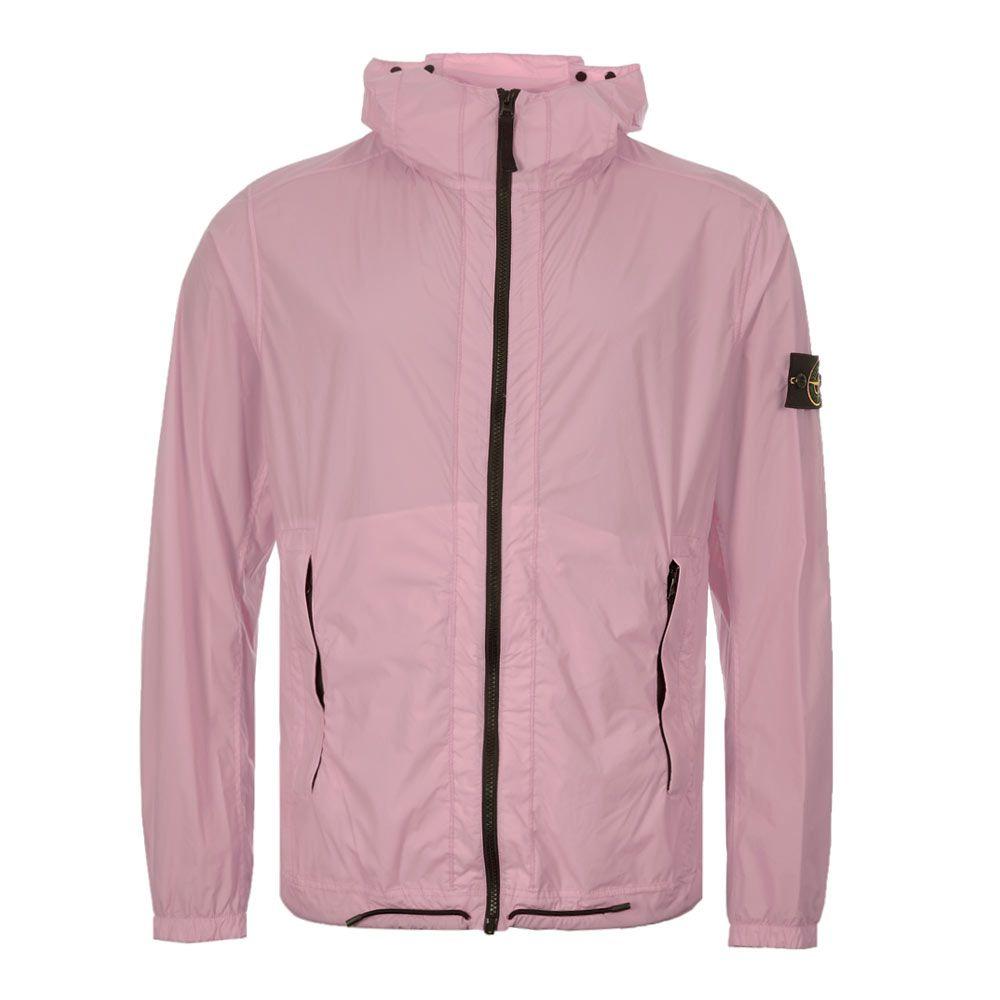 Stone Island Jacket Skin Touch Nylon Tc 72154381 V0086 Pink Aphrod