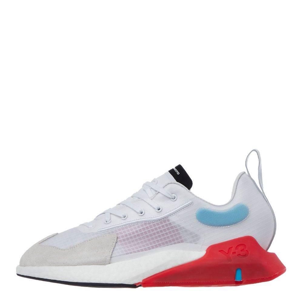 Y3 Orisan Trainers | FX1411 White / Red