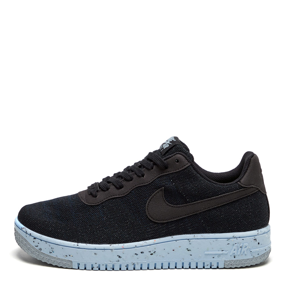 Air Force 1 Crater Flyknit - Black / Chambray Blue