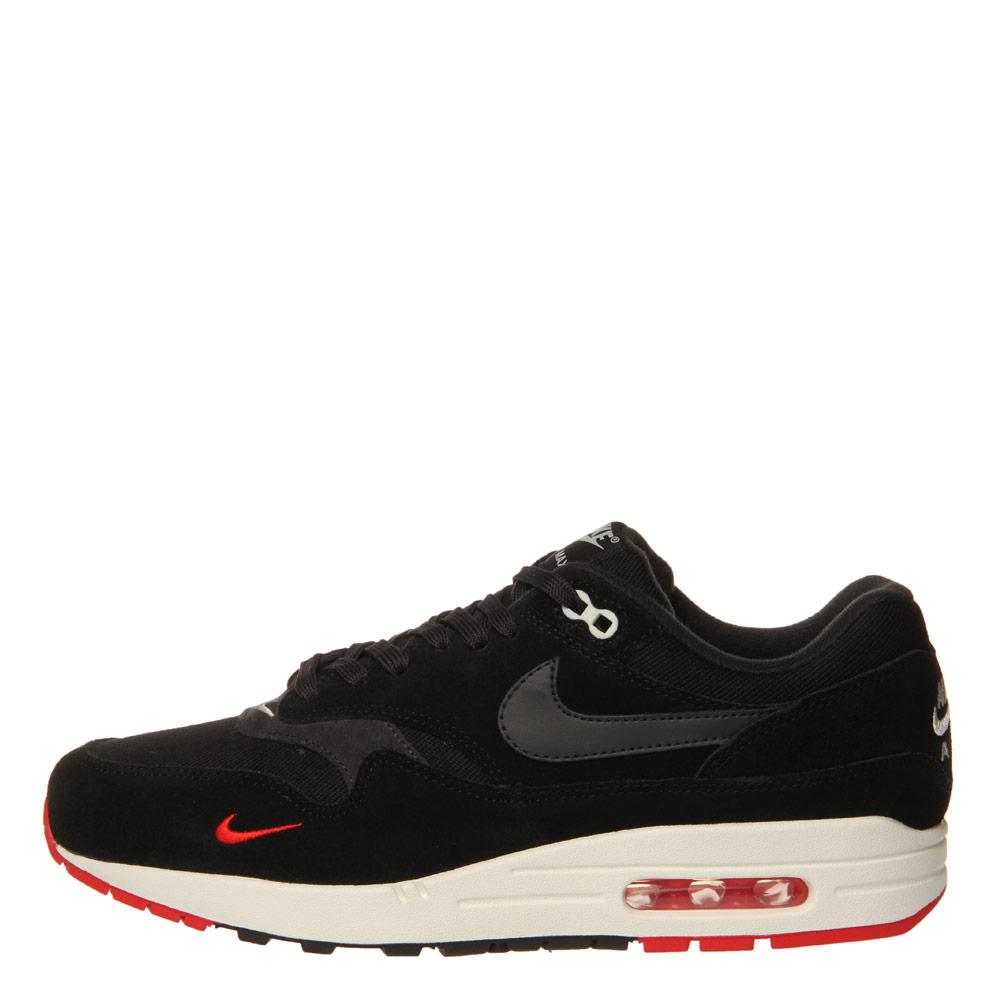 super popular 338e2 fddd3 Nike Air Max 1 Premium   875844-007 Black   Oil Grey   University Red    Aphrodite1994