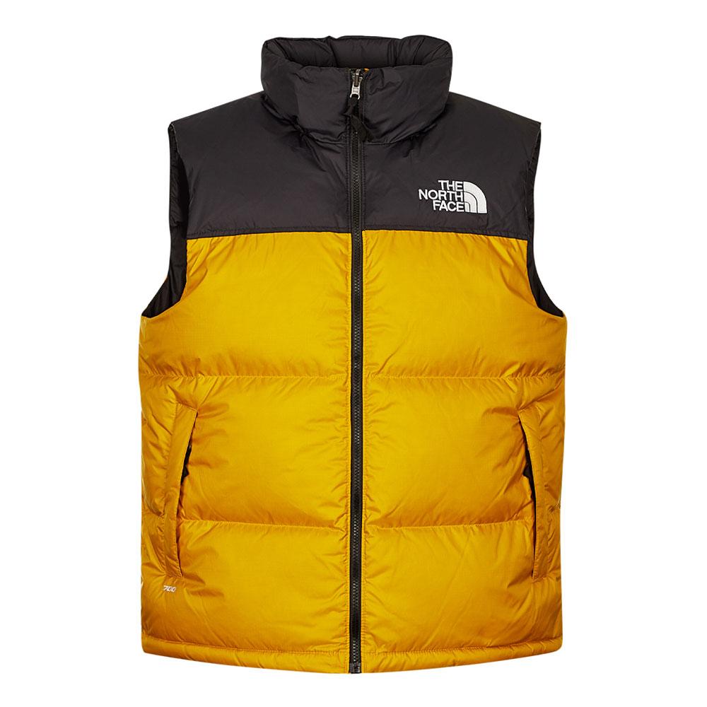 1996 Retro Nuptse Vest - Arrowwood Yellow