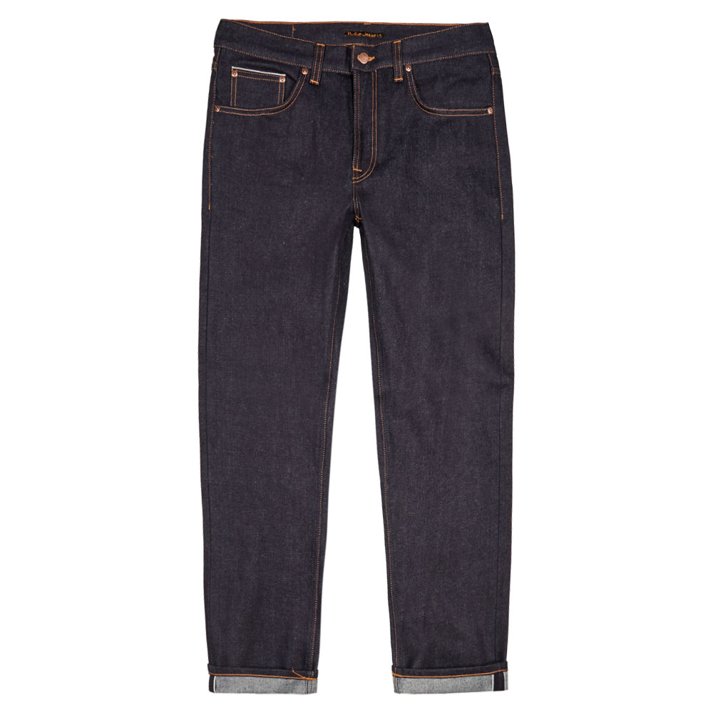 Nudie Jeans Gritty Jackson Jeans In Navy