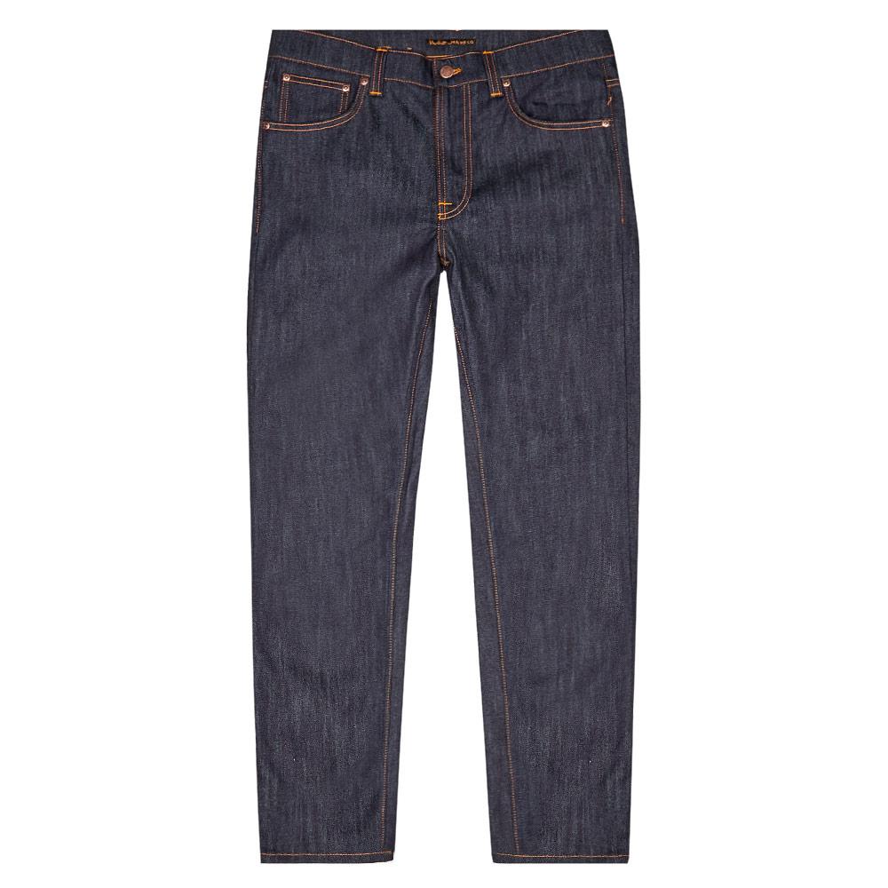 Nudie Jeans Lean Dean Dry In Navy