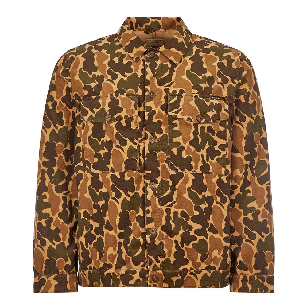Nudie Jeans Colin Jacket In Brown