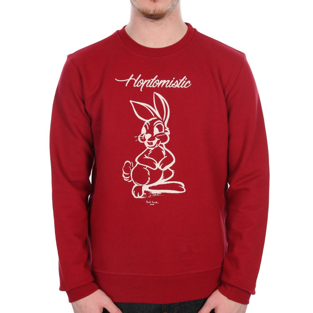 Paul Smith Sweatshirt Red Aphodite Alfa Romeo Sweater