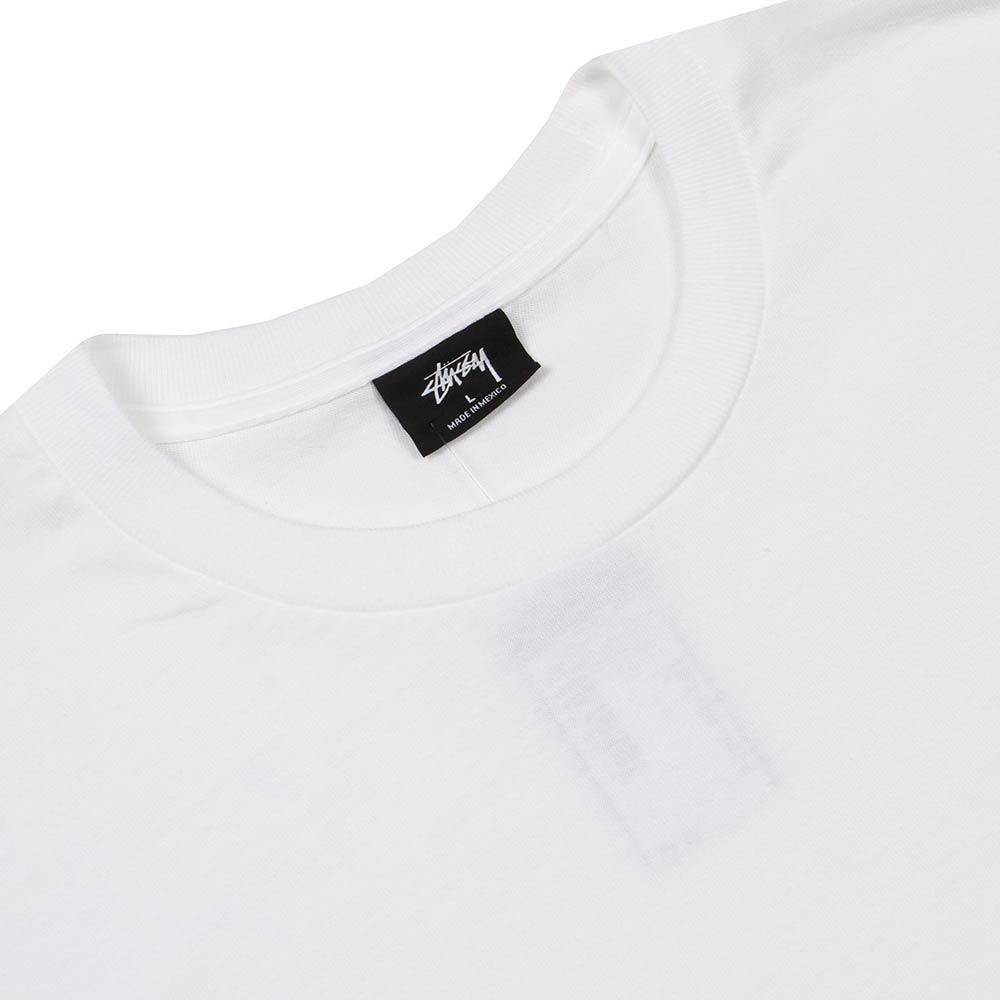 acf096608 Stussy T-Shirt Jamaica | White 1994212 | Aphrodite