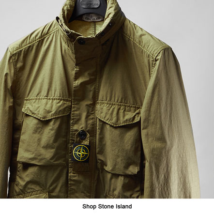 Stone Island Field Jacket Naslan Light Watro