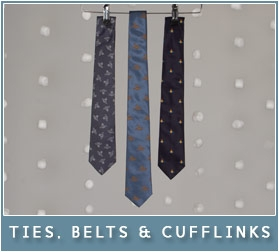 Ties, Belts & Cufflinks
