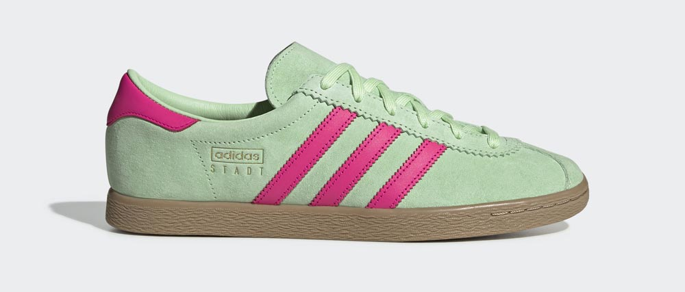 Win a pair of adidas Stadt Trainers